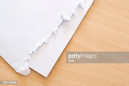 Open Envelope Stock Photo - Getty Images