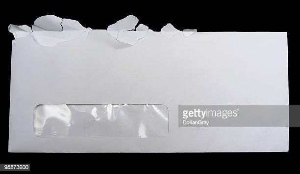 Offene Umschlag