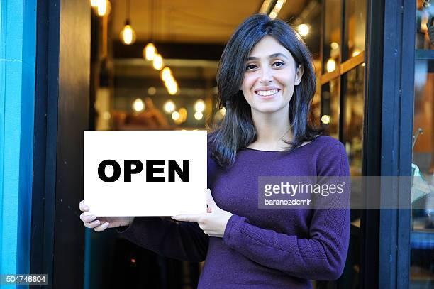 Geöffnet für business