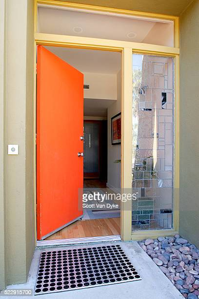 open front door - front door stock pictures, royalty-free photos & images