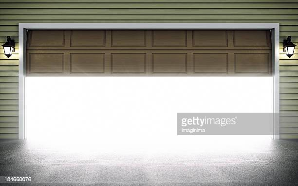 Offene Garage Door