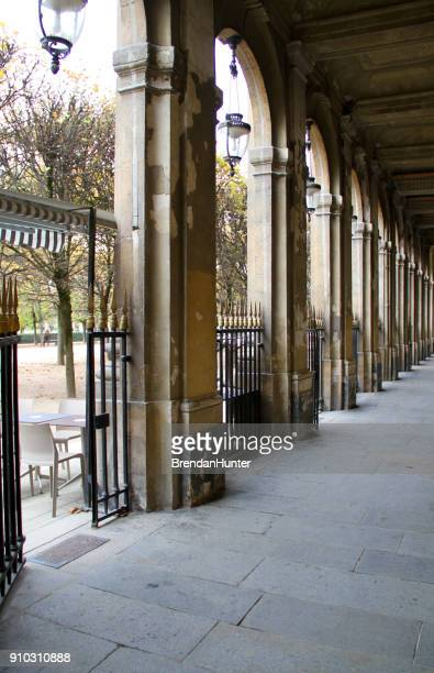 open gate - palais royal stock pictures, royalty-free photos & images