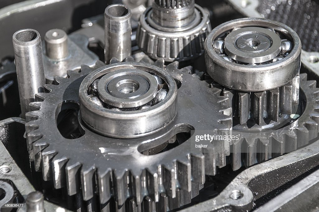 Open gearbox : Stock Photo