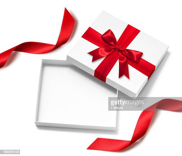 open gift box - lid stock photos and pictures