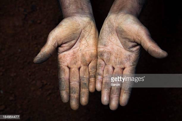 Offene Hände