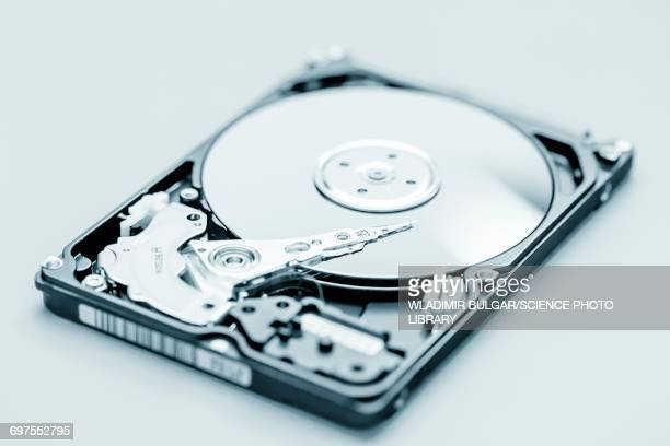 Open hard disc drive