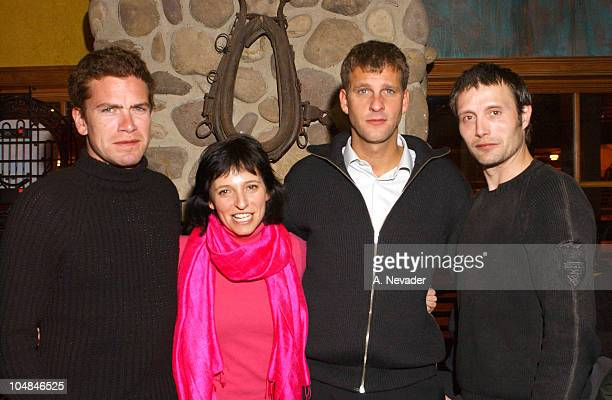 Nikolaj Lie Kaas, director/c0-writer Susanne Bier, co-writer Anders Thomas Jensen and Mads Mikkelsen