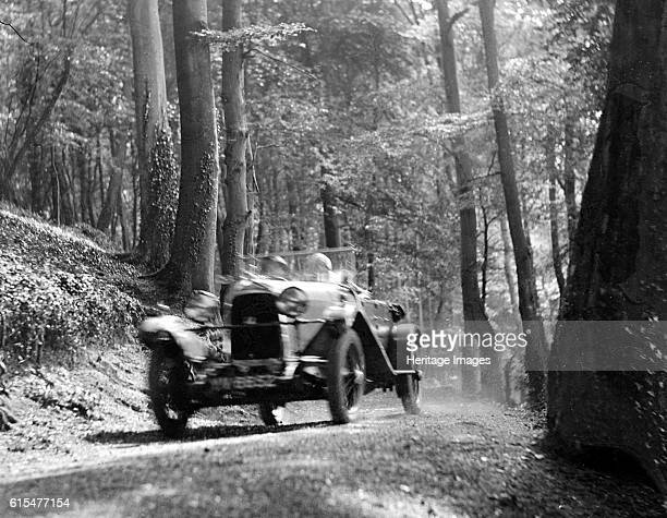 Open high chassis Lagonda taking part in the North West London Motor Club Trial 1 June 1929 Lagonda 1954 cc Vehicle Reg No 556 Open high chassis car...
