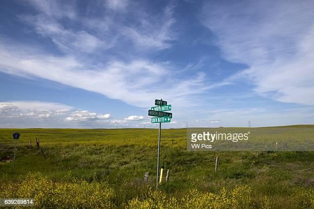 Open land near Lakota Pine Ridge Indian Reservation near Oglala South Dakota