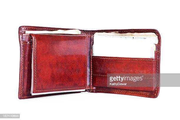 Open Mens  Leather Wallet