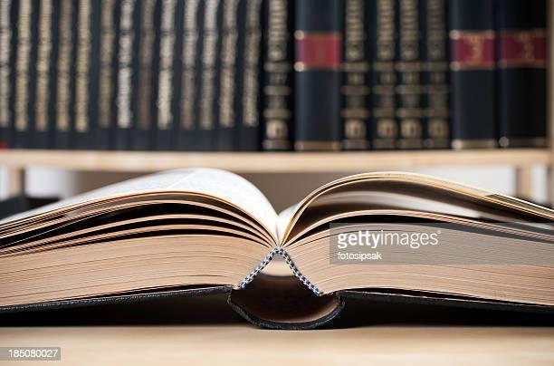Offene alten Buch