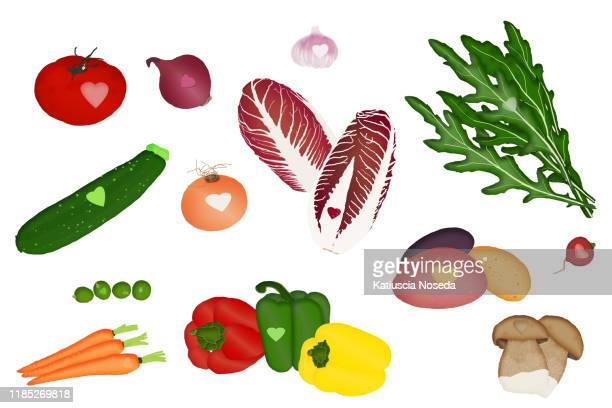 open outline icons - green bell pepper stock pictures, royalty-free photos & images
