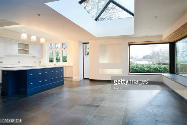open plan extension - renovation stock pictures, royalty-free photos & images