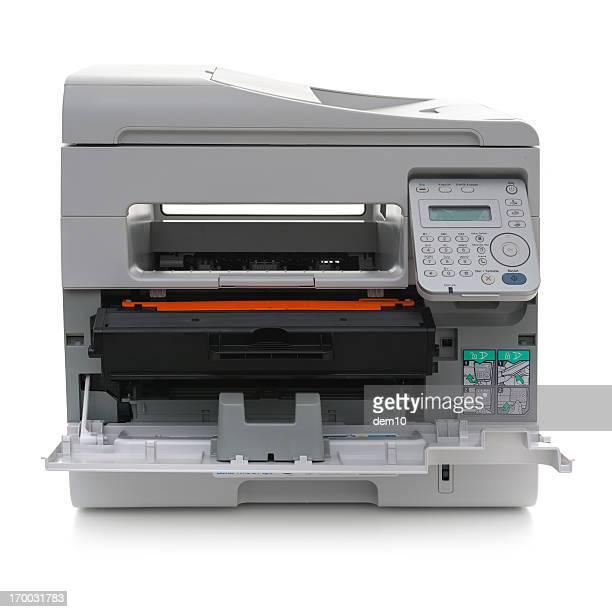 Ouvert une imprimante