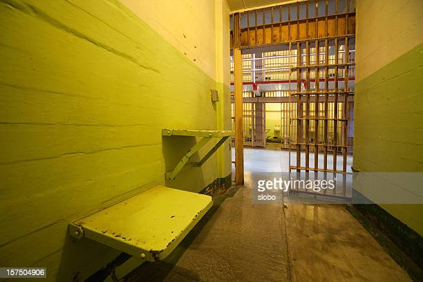 open prison cell - releasing stock pictures, royalty-free photos & images