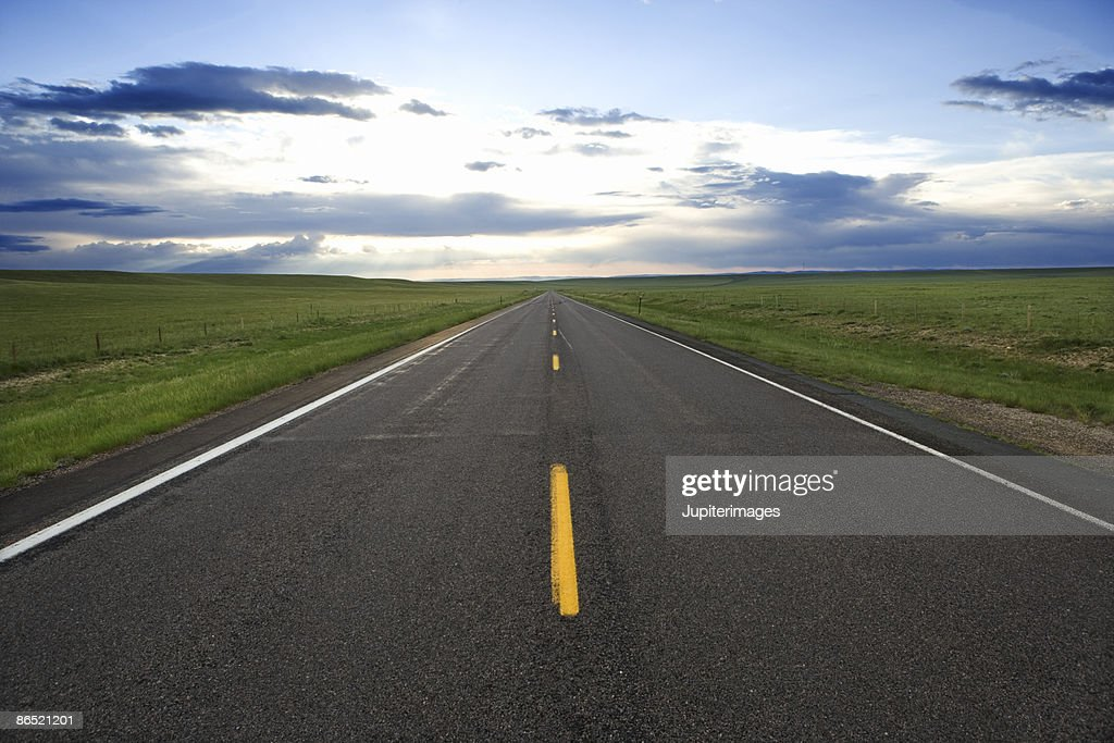 Open road : Stock Photo