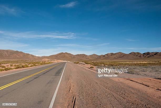 Open road, Ruta 52 to San Antonio de Los Cobres, Salta Province, Argentina