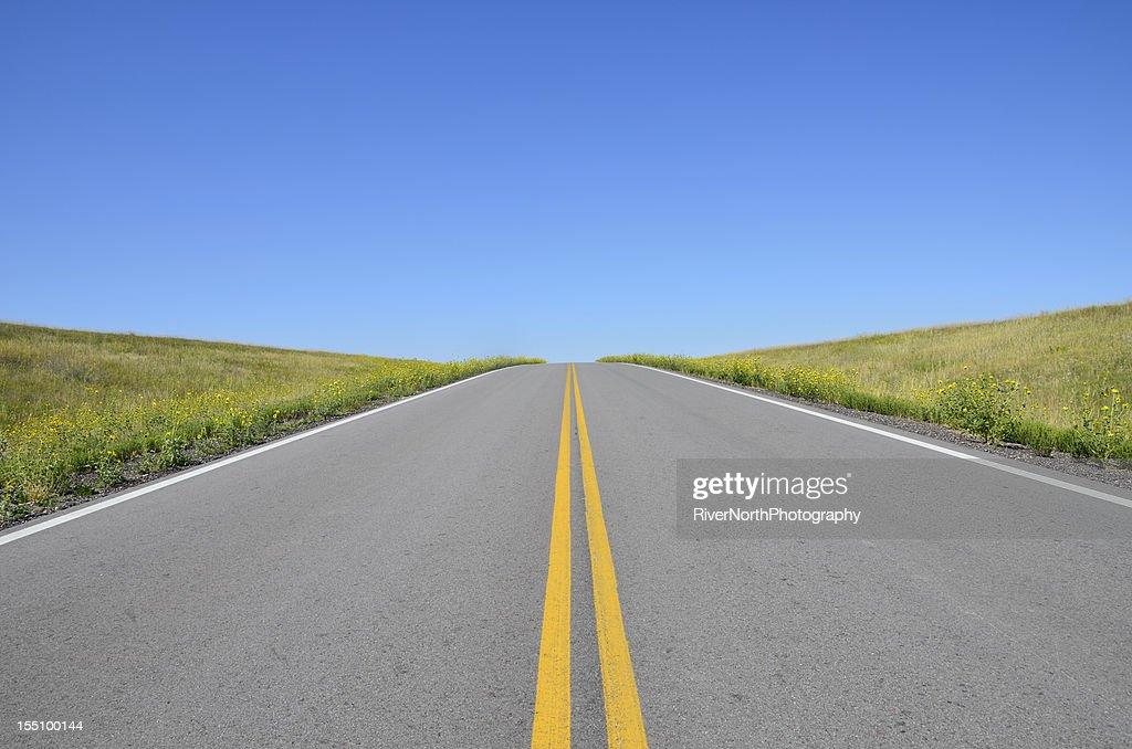 Open Road Dakota Do Sul Foto De Stock Getty Images