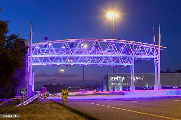 open road toll gate - gauteng province stock pictures, royalty-free photos & images