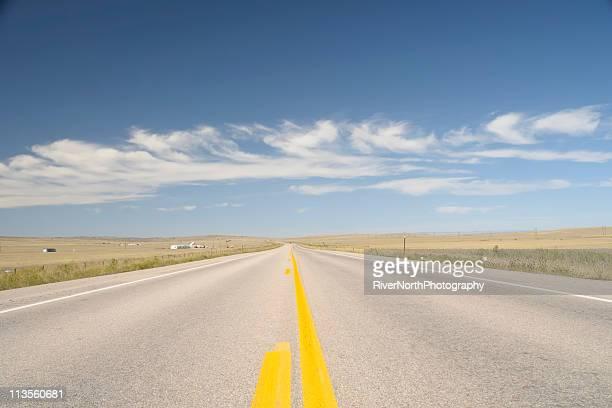 Open Road, Wyoming