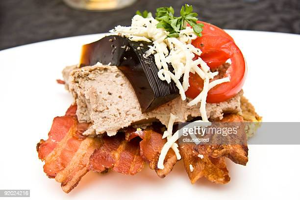 open sandwich - denmark stock pictures, royalty-free photos & images