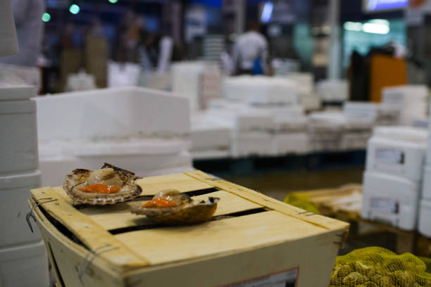 FRA: French Produce For Sale In Rungis International Wholesale Market Ahead Of Christmas