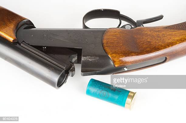 Open Shotgun With Cartridge Removed