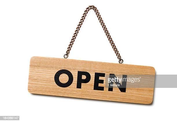 Señal de abierto