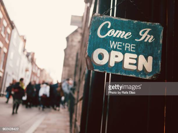 open sign - open for business stock pictures, royalty-free photos & images