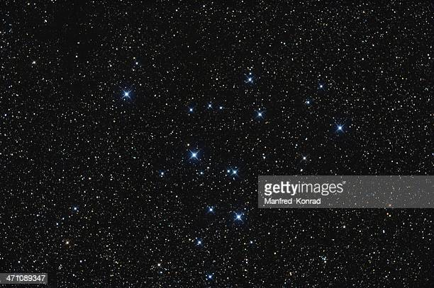 Open Star Cluster in the Constellation Swan