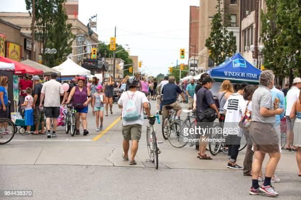 Open Streets - Windsor, Ontario