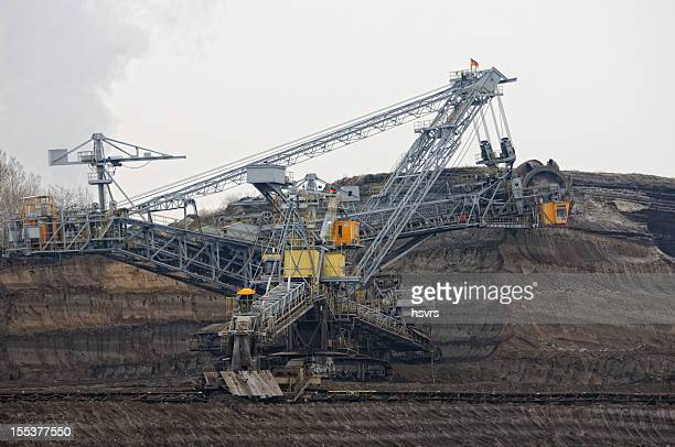 Offene Strip Coal mine