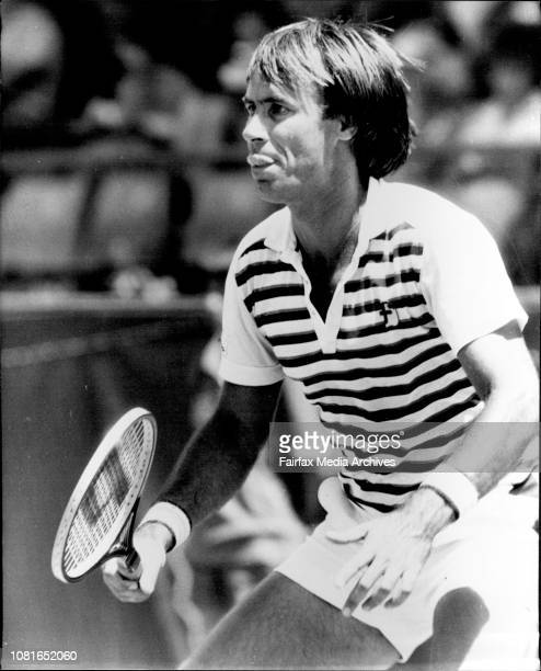 NSW Open Tennis at White City QuarterFinalsJohn Alexander NSW vs Richard Meyer USA December 17 1982