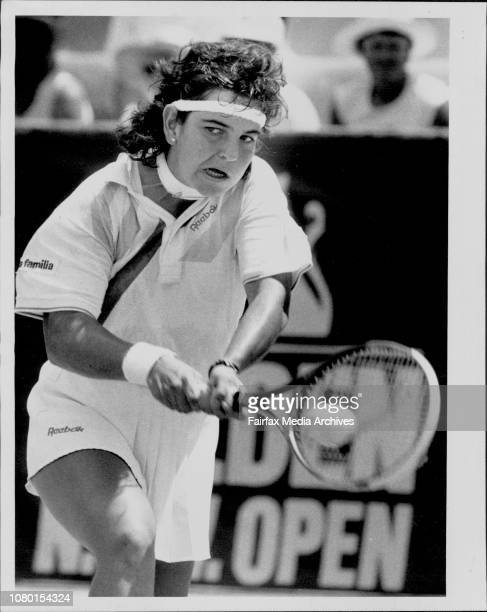NSW Open Tennis At White City SydneyWinner of the womens singles A SanchezVicario Defeated Zina Garrison of the USA January 12 1991