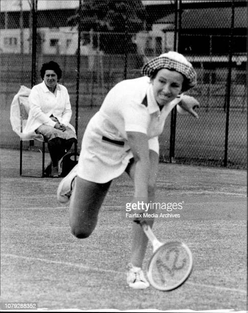 NSW Open Tennis championship at White city this afternoonK Ebbinghaus form West Germany who won over S Saliba this afternoon November 28 1976