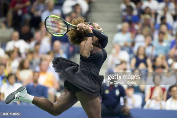 Open Tennis Tournament Day Nine Serena Williams of the United States in action against KarolinaPliskova of the Czech Republic in the Women's Singles...