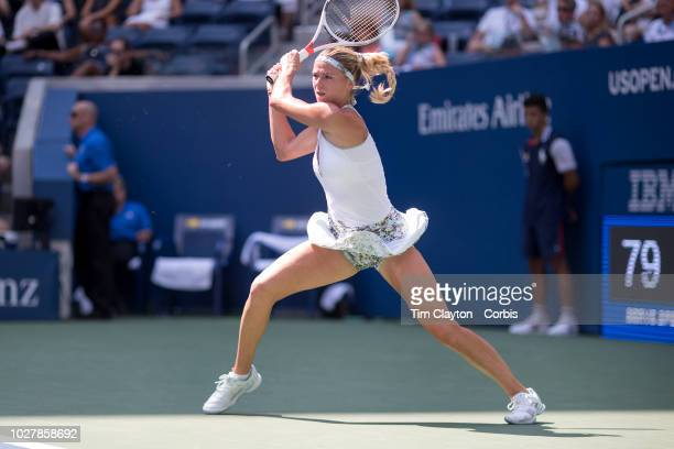 Open Tennis Tournament Day Three CamilaGiorgi of Italy in action against Venus Williams of the United States in the Women's Singles round two match...