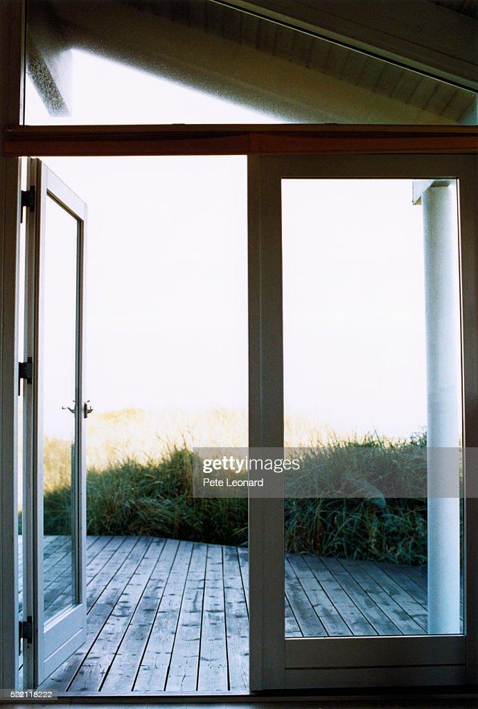 Open Terrace Door
