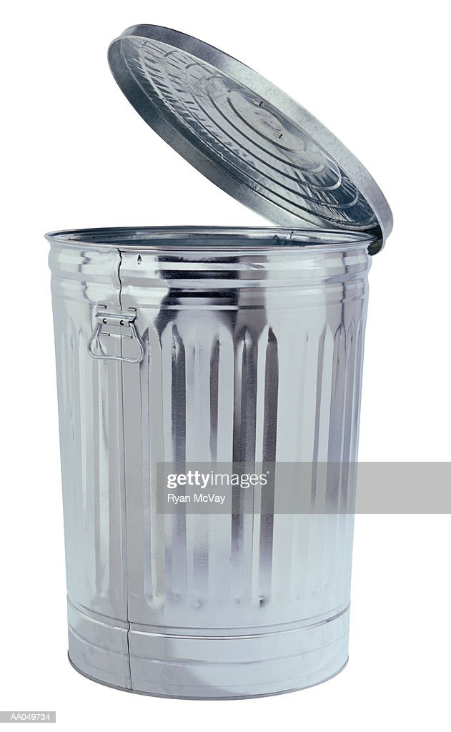 Open Trash Can : Stock Photo