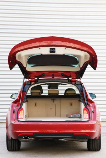 Open trunk on a Sports Tourer 458672245