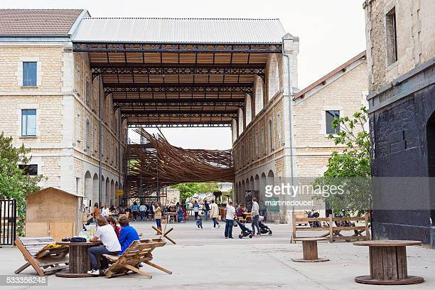 Open view of Espace Darwin Bordeaux, France.