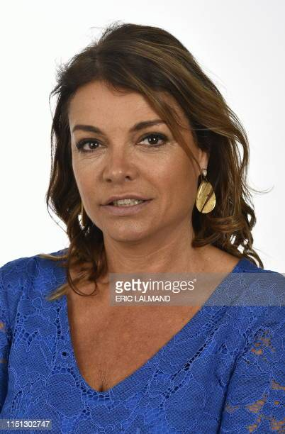 Open Vld's Goedele Liekens poses during a photoshoot, Thursday 20 June 2019, at the Chamber at the federal parliament in Brussels. BELGA PHOTO ERIC...