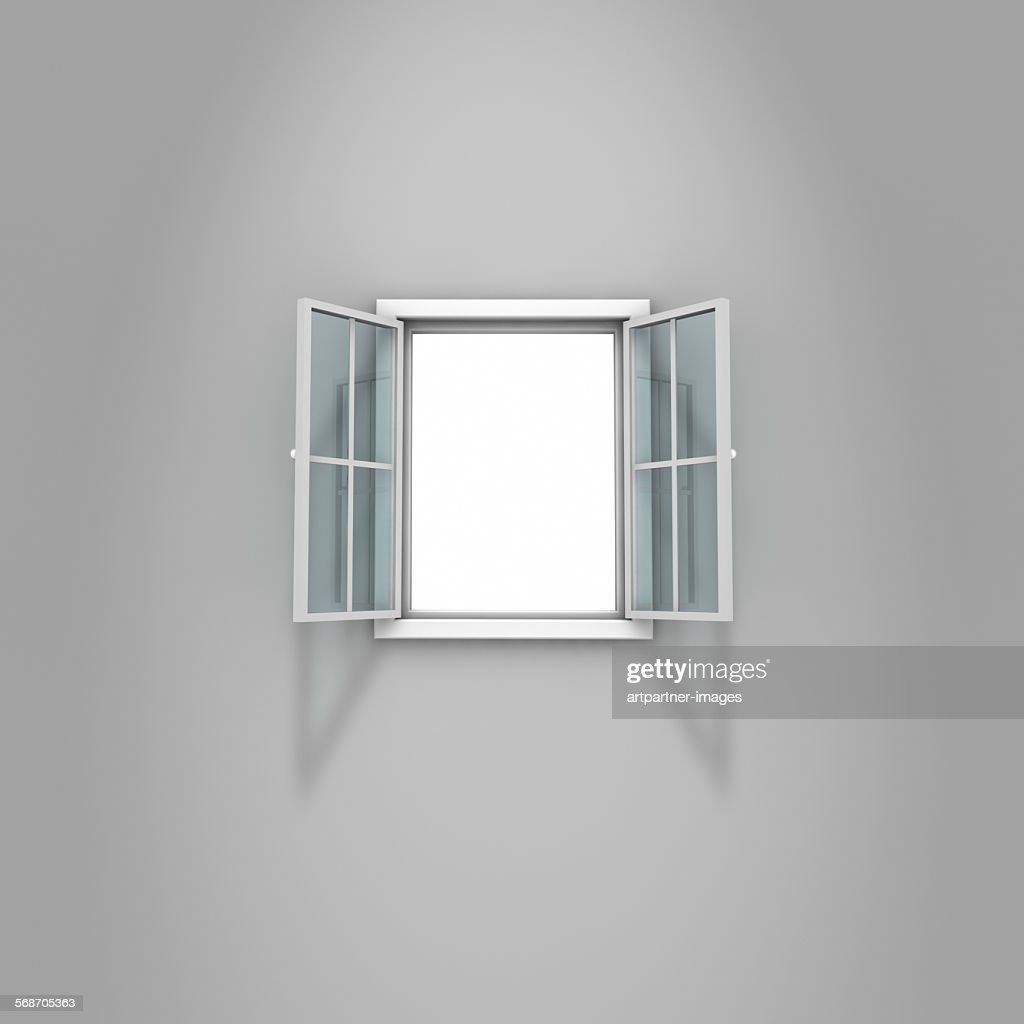Open window : Stock-Foto