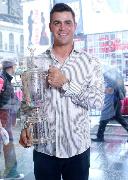 """NY: US Open Winner Gary Woodland Visits """"Extra"""""""