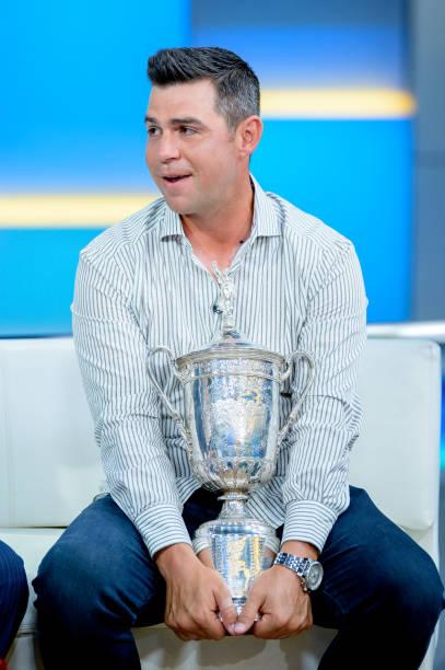"NY: US Open Winner Gary Woodland Visits ""FOX & Friends"""