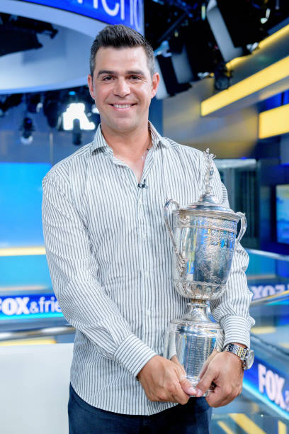 "NY: US Open Winner Gary Woodland Visits ""FOX & Friends"""