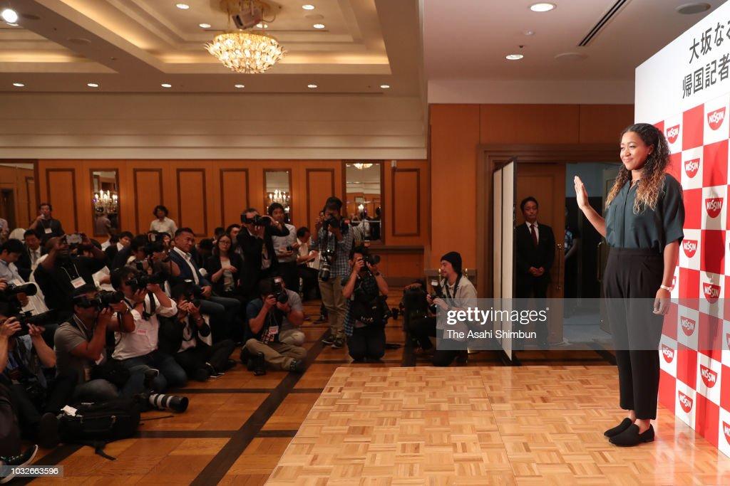 Naomi Osaka Press Conference : News Photo