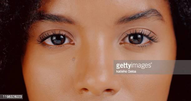 open je ogen, wat zie je? - oog stockfoto's en -beelden