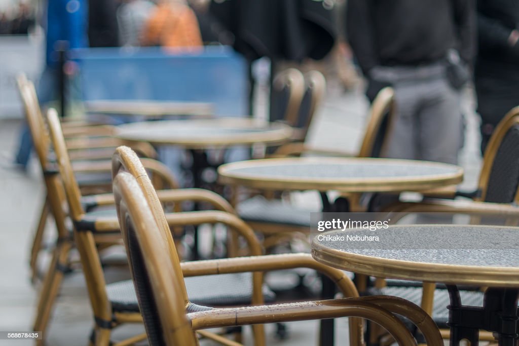Open-air café : Stock Photo