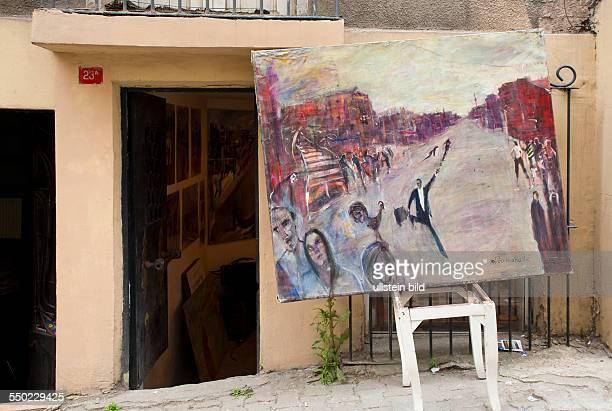 OpenAir Galerie im Troedlerviertel Cukurcuma TUERKEI Istanbul 062011 Troedlerviertel Cukurcuma